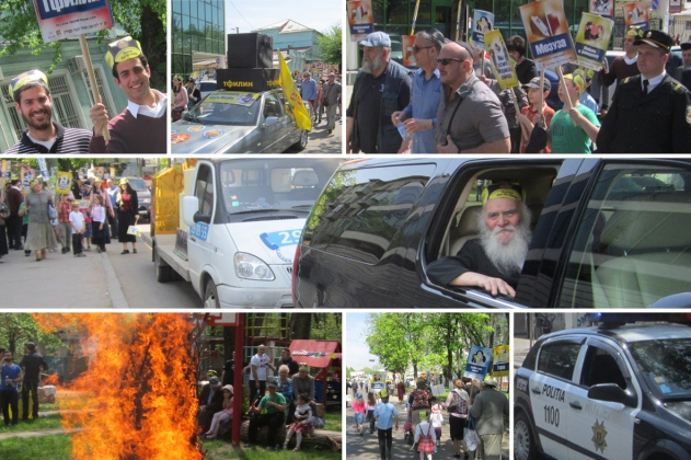 Lag BaOmer parade took place in Kishinev