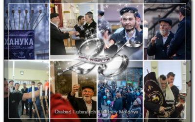 Festive of light in Moldova – Chanukah 5775