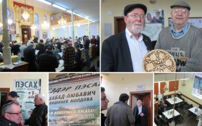 Matzos Wine and Haggadot – Passover 5775 in Kishinev