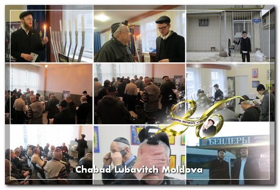 Chanukah celebration in Transdniester