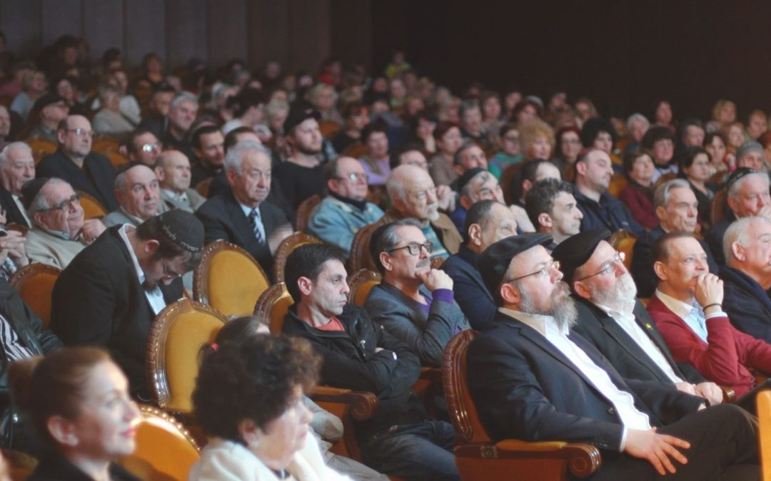 Monumental Jewish Evening in Moldova Inspires