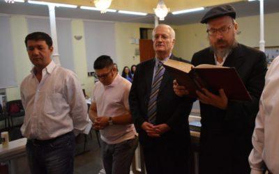 MOLDOVAN JEWISH COMMUNITY REMEMBERS ELIE WIESEL