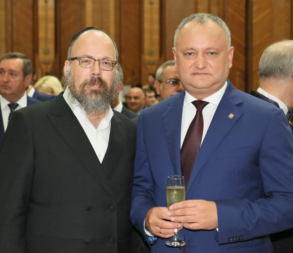 Rabbi Meets Moldovan President