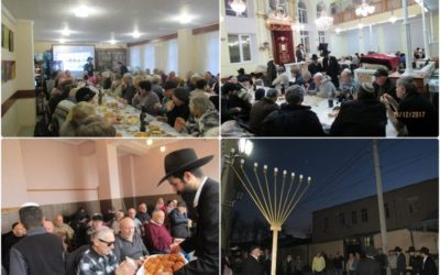 Chanukah 2017 – 5778 candles light up Moldova