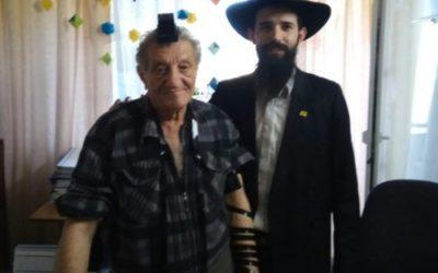 Bar Mitzvah at the age of 70! Mazal Tov