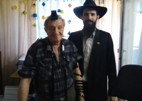 Bar Mitzvah at the age of 70! Mazal Tov