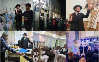 Chanukah 5779, Brings Light to the Republic of Moldova