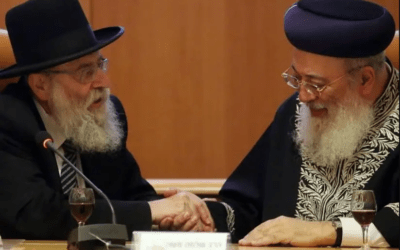Amar and Stern elected as Chief Rabbis of Jerusalem