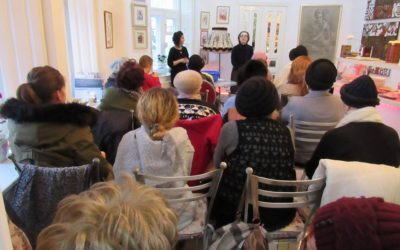 Tu Bishvat in the Art Café for the Kishinev Women