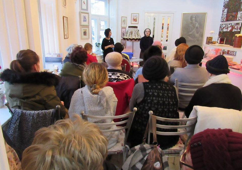 Tu Bishvat in the Art Café for the Kishinev Women