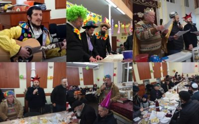 Festive Purim in Moldova 2018