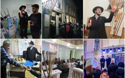 Chanukah 5779, Brings Light to the Republic of Moldova